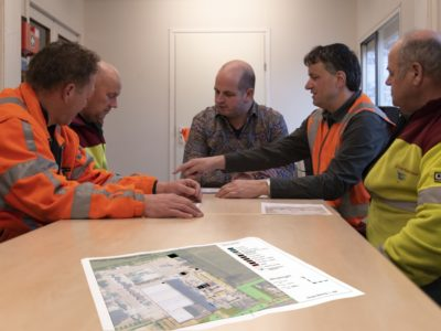 Verbeteren en beheer van milieustraat